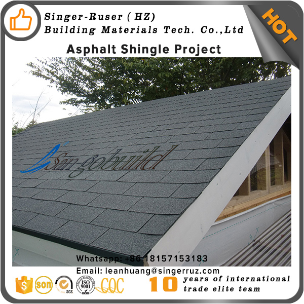 Residential cheap roofing material factory direct Kenya Asphalt Roofing Shingles Price