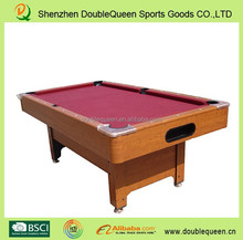 High quality & international multi functional pool table/billiard table with low price