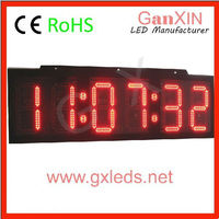outdoor waterproof clock outdoor digital clock high bright