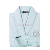Soft microfiber adults bath robe