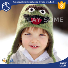 Animal shape cute warm knitted children winter hat
