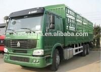 Howo 6x4 cargo truck 30 ton flat truck for sale