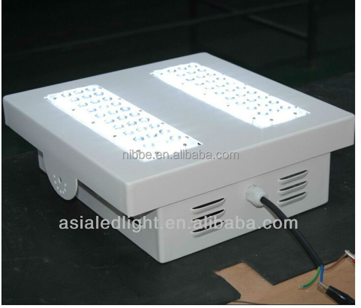 UL listed flameproof ATEX 50-120W gas station canopy light led explosion proof light