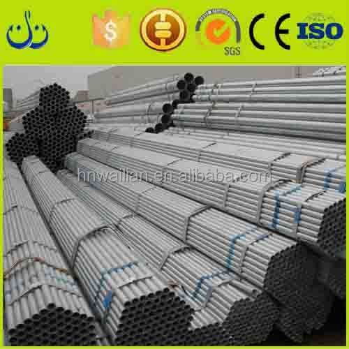 2016 top quality Q195 1.5 inch fencing Mild Carbon Square Welded Galvanized Steel Pipe / Tube