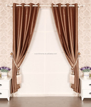 100% polyester fabric Dyed embossed cheap blackout curtain fabric light proof window curtain blackout
