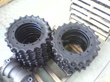 China made mini excavator undercarriage parts sprocket/ star roller/ segment
