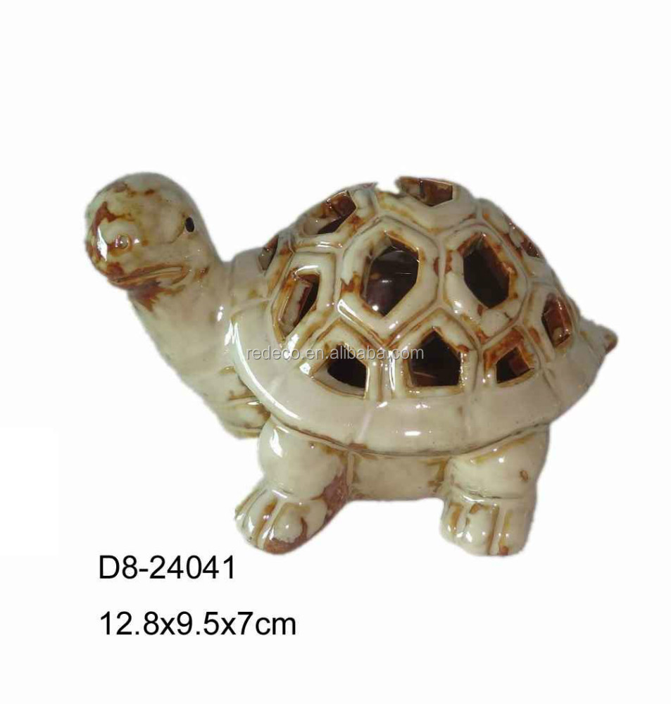 ceramic pierced turtle ceramic