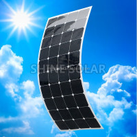 Hot sale 20W 50W100W 120W high efficient flexible solar panel, semi flexible solar panels price China by factory directly