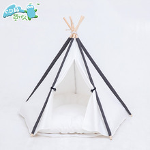 Wholesale pet house dog teepee tents for sale for sale