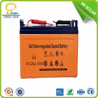 Outdoor High-efficiency gel batteries 12v 50ah