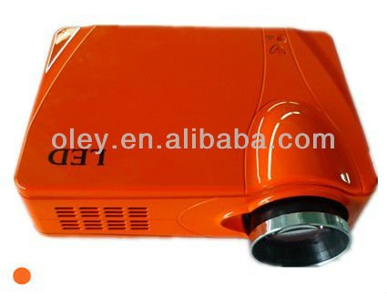 low cost lcd projector home theater 1080p built in tv tuner, work with pc, laptop, wii, ps3 and etc