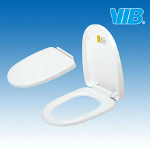 Hot sell white PP heated soft close toilet seat