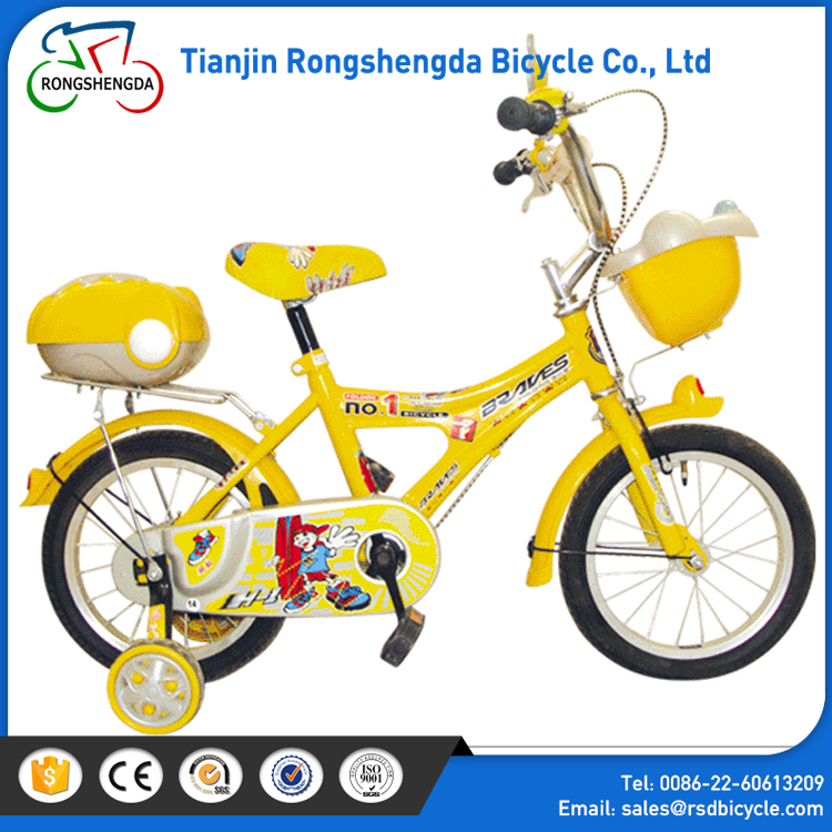 Outdoor exercise bicycle for kids / 16 inch children bike on road / children bicycle four wheels
