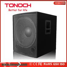 TONOCH Hot sale dj subwoofer sound box outdoor speaker concert sound system professional speakers subwoofer PA118