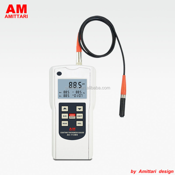 FN Ferrous and Non-Ferrous Magnetic paint thickness gauge with Memory 99 groups data