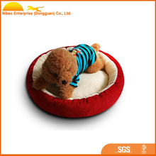 Luxury round Donuts soft pet dog bed wholesale