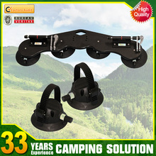 High quality suction cup roof rear bike rack ski rack