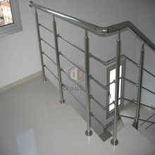 portable stair railings stainless pipe clamp
