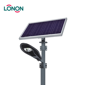 Hot Sale Custom Designed COB IP65 30w led solar street light outdoor with Solar Panel