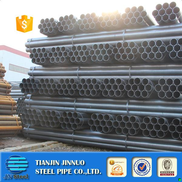New design black carbon steel tube steel round pipe making machine16 inch seamless steel pipe price