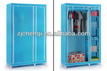 double door portable wardrobe storage closet TM-205