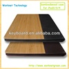 100% original eco-friendly wood case for ipad 2/3/4