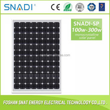 Home Solar System Use 30w 100watt 250w 300W Solar Panel for solar power systems