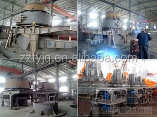 high quality PCL vertical crusher sand maker