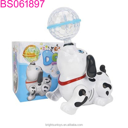 Newest toy B/O happy dog with light and music BS061897