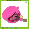 Portable OEM silicone coin purse wallet