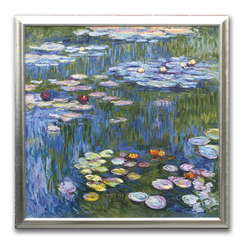 Water lily by Claude Monet oil painting samples