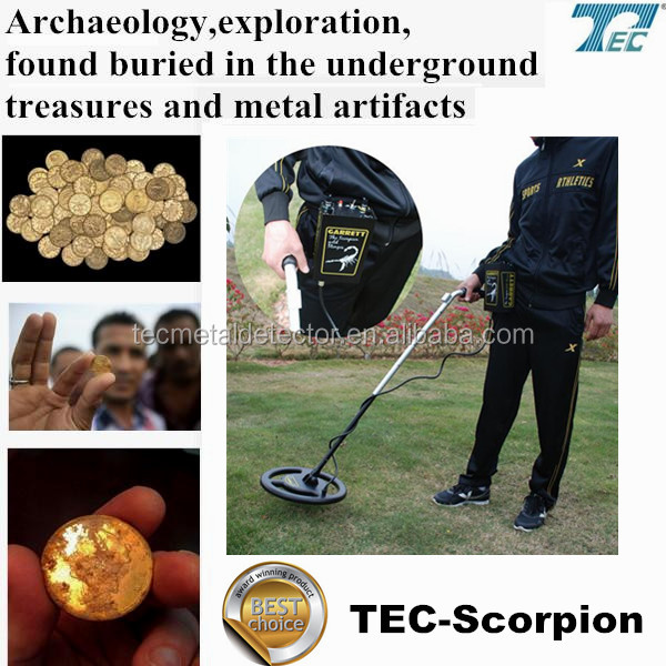 High Performance Long Range underground gold detector /Deep Search Metal Detector /Super Gold Scanner TEC-Scorpion