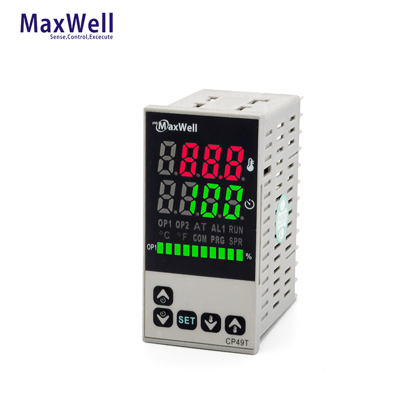 48*96 vertical  pid temperature and timer controller with Manual control