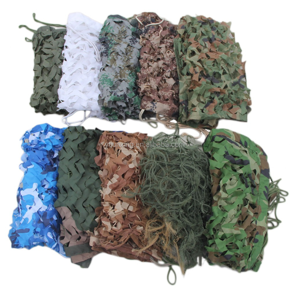 Military Camouflage Net multispectral anti-radar camouflage net ,camo netting ,different color Camuflaje