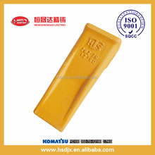 High quality trade assurance precise casting excavator parts PC100 12180 for bucket tooth