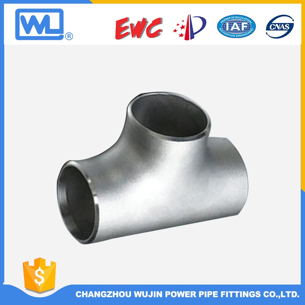 Natural Gas Fittings Welding Steel Pipe Tee
