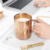 New Promotion Durable Stainless Steel Copper Mugs Set Of 2