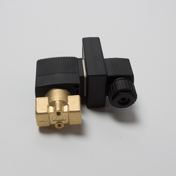 Ningbo fenghua low power brass 2 way VX2120-08-E 1/4 water water solenoid valve