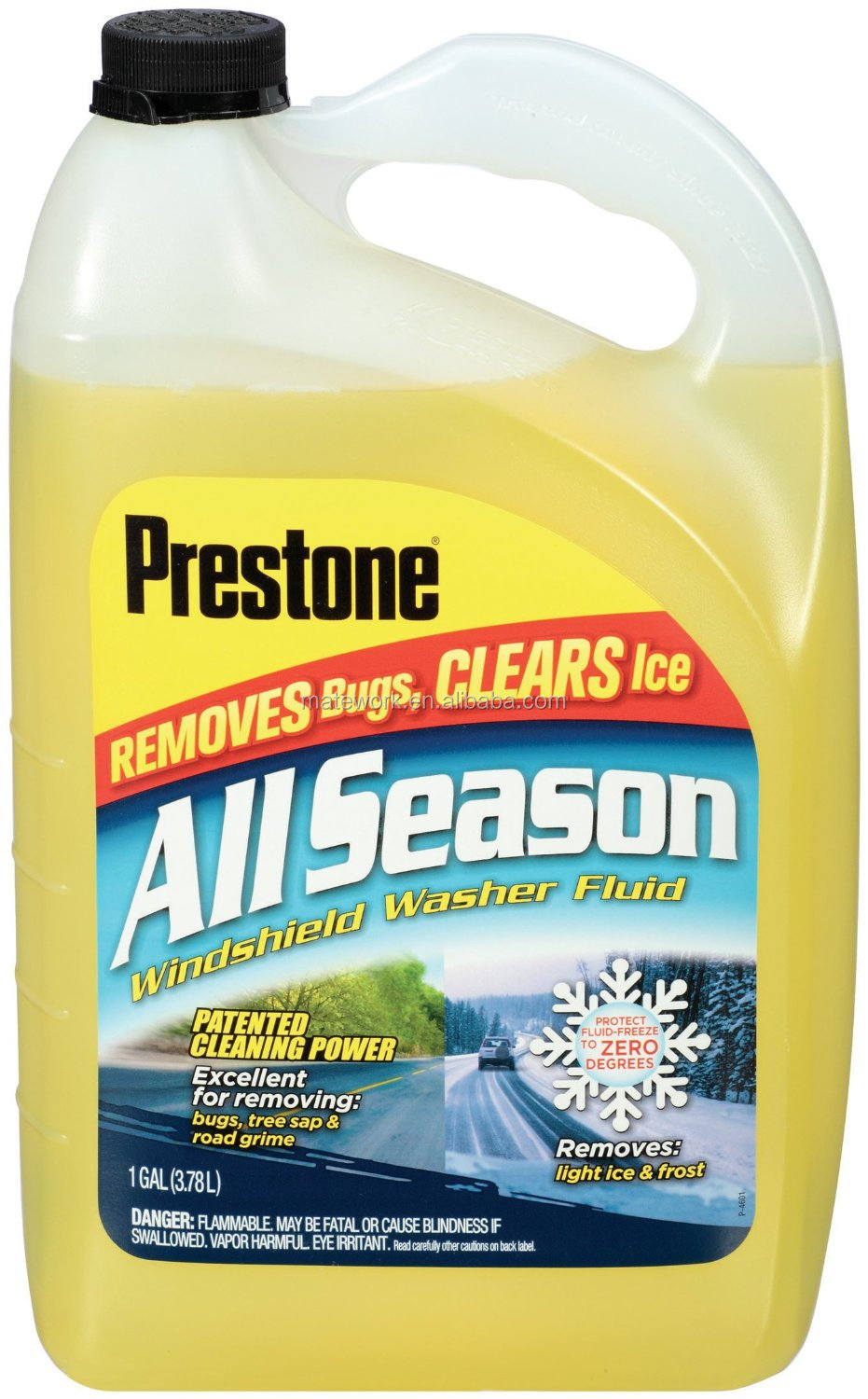 Glass Cleaner Windshield Washer Fluid - 1 Gallon