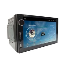 7 Inch <strong>Android</strong> Universal Car DVD Player Car Stereo with Knob GPS BT WIFI