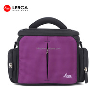 2014 Newest Violet Nylon fancier camera bag Waterproof trendy dslr camera bags Professional unique camera bags