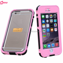 Hot sale waterproof mobile phone case, wholesale waterproof case for samsung galaxy mega 6.3''