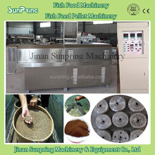 New design stainless steel high capacity floating and sinking fish feed extruder machine process line