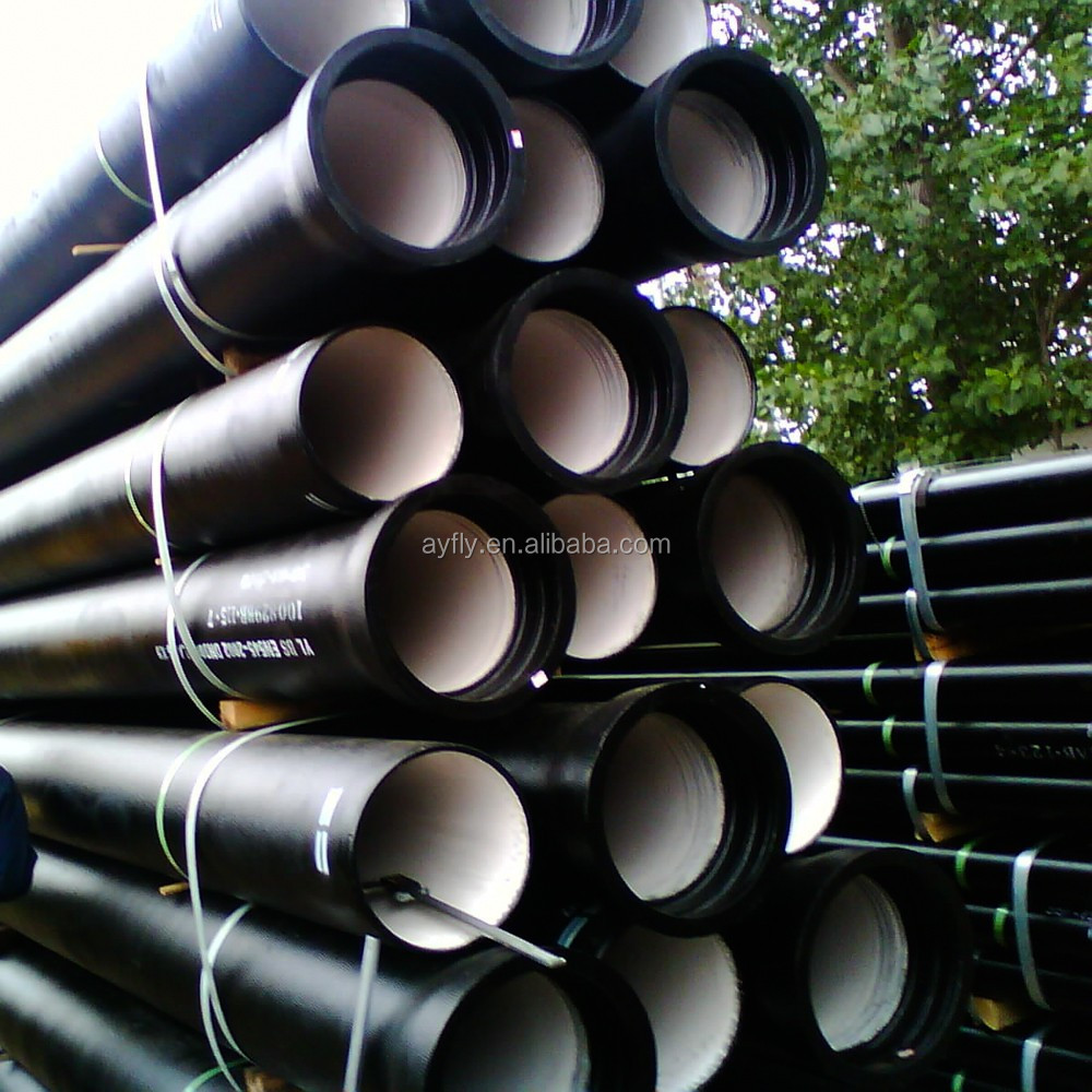 ISO2531 or EN545 cement lined ductile iron pipe pricing
