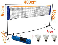 Sports badminton net standard size good for indoor and outdoor with competitive price