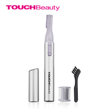 TOUCHBeauty Amazon Hot Sale safe shaving Includes an exchangeable comb eyebrow trimmer electric