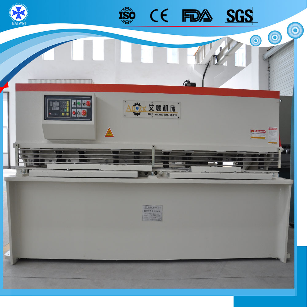 factory used sheet metal Hydraulic Swing Beam Shearing Machines