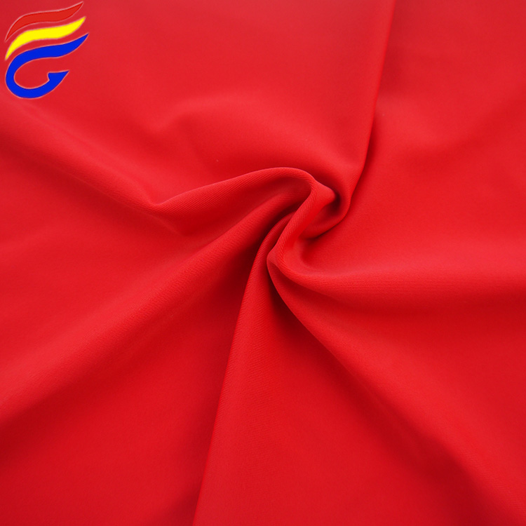 40D+40D China factory warp knit solid stretched swimwear fabric