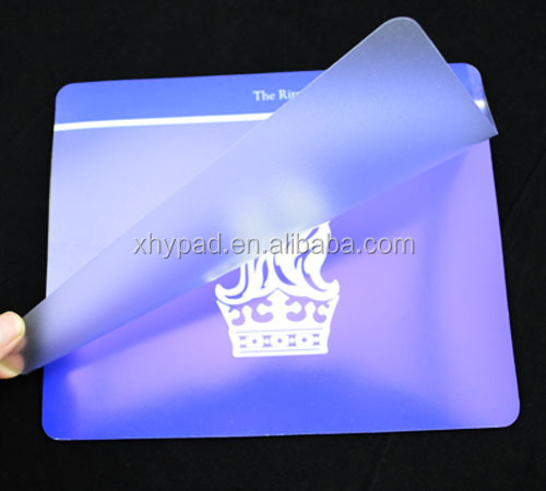 photo insert mouse pad with custom logo