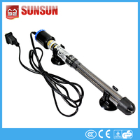 500W Energy Saving Thermometer Aquarium Quartz Glass Heater Glass Heating Rods for Fish Tank